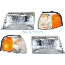 NEW LEFT RIGHT SIDE 4 PIECES AUTO LIGHT KITS FITS 1998-2000 MAZDA B2500