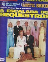 Manchete Magazine August 30 1975 President Ford Pele Catherine Deneuve