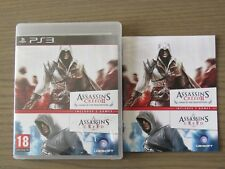 PLAYSTATION 3 PS3 ASSASSIN'S CREED II GAME OF THE YEAR EDITION + ASSASSIN CREED