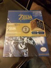 Legend of Zelda Coin Collector's Album Book Nintendo Master Sword BOTW