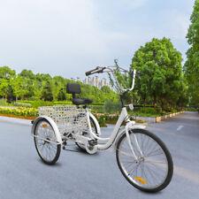 White 3-Wheels Trike 24