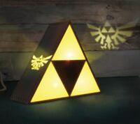 ORIGINAL Paladone The Legend of Zelda Lampe Figur Triforce mit Hyrule Projektion