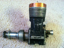 Mccoy 49 Duro-Matic engine motor vintage old airplane plane model rc red head