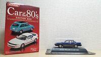 1/64 Konami Car of the 80's 1982 HONDA PRELUDE BLUE diecast car model NEW