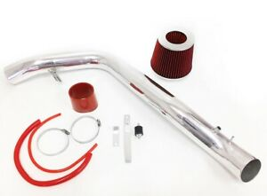 RED For 1990-1993 Acura Integra LS RS GS GSR SE Cold Air Intake System Kit