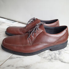 BOSTONIAN  Men's 12 M Flexlite Ipswich Brown Lace up Oxfords Shoes leather p