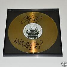 Madcon - Icon CD + Deko goldene Schallplatte + Autogramm / Autograph In Person