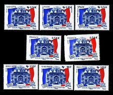 """Les 8 TP """"Bicentenaire Cour des Comptes - 2007"""". Neufs**. MNH. 1er choix."""