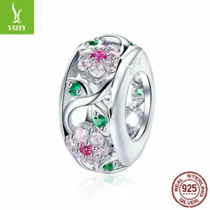 Authentic 925 Sterling Shining Elegance Clip Charms & Beads Fancy Fit Women Girl