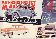 Motorhistoriskt Magasin Swedish Car Magazine 3 1982 BMW 502 040317nonDBE