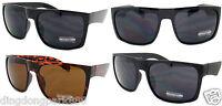BLACK / TORTOISE CLASSIC DESIGNER RECTANGULAR FLAT TOP FRAME SUNGLASSES SHADES