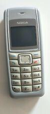 Nokia  1110 - Silbergrau (Ohne Simlock) Handy