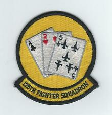 125th FIGHTER SQUADRON (CARDS-THEIR LATEST) patch