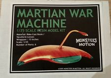 1/35 scale resin model kit of the Martian War Machine from Wa