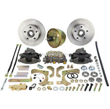 Brand New Complete Front Disc Brake Conversion Kit For 55 56 57 58 Chevy