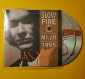 David Sylvian live in Milan 1995, Slowfire tour, double CD, great sound, Japan