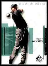 2005 SP AUTHENTIC GOLF TIGER WOODS #1