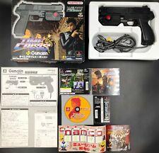 TIME CRISIS + Guncon - game console PLAYSTATION PS2 NTSC JAPAN JAP JP shoot