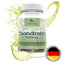 Chondroitin 90 Kapseln Tabletten hochdosiert 500mg Hergestellt in Deutschland