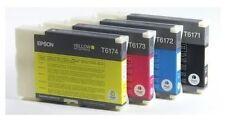 4 Original Tinte Epson B500 B-500DN B-510DN / T6171 T6172 T6173 T6174 Cartridges