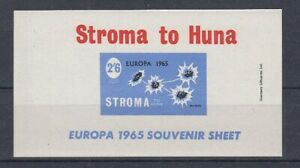 Cinderella   Stroma to Huna  Blumen  1965  Block II  ** (mnh)