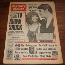 MELODY MAKER 2 MAR 1968 BEATLES OFARIM DONOVAN DON PARTRIDGE FAMILY EYES OF BLUE