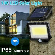100 LED Solar Lamp Solar Lamp With Motion Detector Outdoor Floodlight Wall Decor