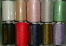 Sewing Machine & Overlock Thread 10,000m Polyester Sewing Thread Top Quality