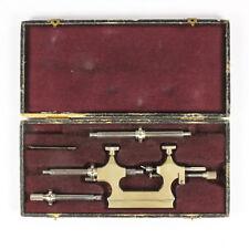 alter Rollierstuhl Uhrmacher Werkzeug Box