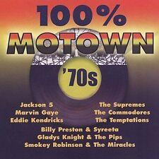 Various Artists : 100% Motown 70s CD