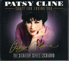 Patsy Cline Crazy For Loving You The Signature Series 2 CD & DVD Boxset