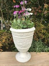 FEATURE GARDEN URN ~  ANTIQUE POT PLANT ~ OUTDOOR PLANTER ~ CARVED ~ LOVELY!