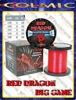Monofilo Giapponese Colmic Red Dragon traina big game tonno mt.600
