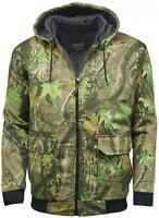C5 Stormkloth Camouflage Tree Print Camo Bomber Jacket Hunting Fishing Outdoor