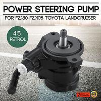 Fit Toyota Land Cruiser FZJ75 FZJ79 FZJ80 FZJ100 FZJ105 1FZ Power Steering Pump