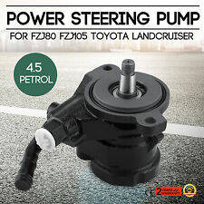 Fit Toyota Land Cruiser FZJ75 FZJ79 FZJ80 FZJ100 FZJ105 1FZ Power Steering Pump
