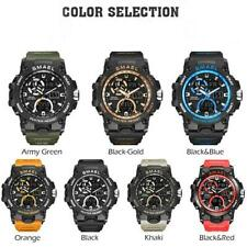 SMAEL Mens Watches Military Army Waterproof Wristwatches Sports Fashion