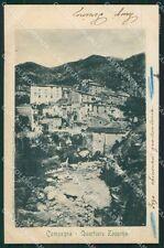 Salerno Campagna Rione Zappino cartolina XB0112