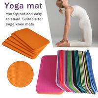 1pc 34*17cm Yoga Mat Knee Pad Non-slip Anti Slip Moisture-resistant Yoga M uW