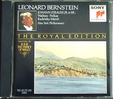Leonard BERNSTEIN Royal 85 Johann STRAUSS An der Schönen blauen Donau Walzer CD