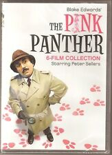 The Pink Panther 6-Film Collection DVD Peter Sellers BRAND NEW