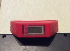 2016 Disney The Jungle Book Kids Silicon Band LED Watch RED Works