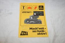 CB-Funkgerät dnt Start 1 - Service Handbuch - Sonder-Edition Michael Schumacher