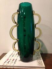 Venini italy Vaso Alessandro Mendini Dor Vase Vaso Glass  Murano