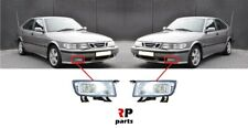 FOR SAAB 9-3 98-03, SAAB 9-5 97-05 NEW FRONT BUMPER FOGLIGHT LAMP PAIR SET