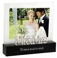Wedding Photo Frame Picture Memories Celebrated Moment Mr and Mrs s Love Gift