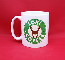 Marvel Avengers Loki Tom Hiddlestone Inspired Coffee Mug 10oz Starbucks