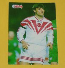 SAGLAM ERTUGRUL TÜRKIYE FOOTBALL CARD UEFA EURO 96 1996 EUROPEAN STARS PANINI