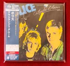 The Police ~ Outlandos d'Amour Japan Japanese SHM SACD Import CD UIGY-9045 NM