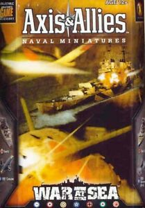 Axis & Allies War at Sea Minatures Singles - Complete your Collection today!